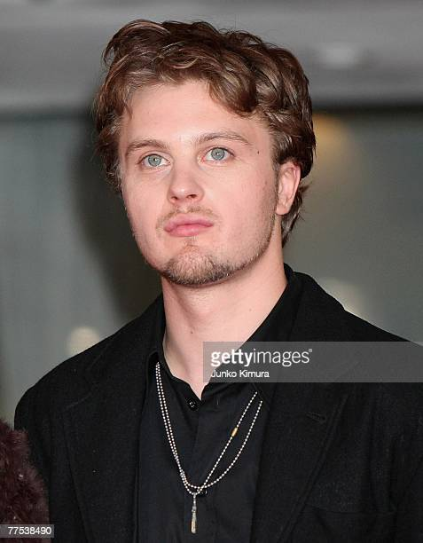 """Actor Michael Pitt attends the closing ceremony promoting his film """"Silk"""" at the 20th Tokyo International Film Festival on October 28, 2007 in Tokyo,..."""
