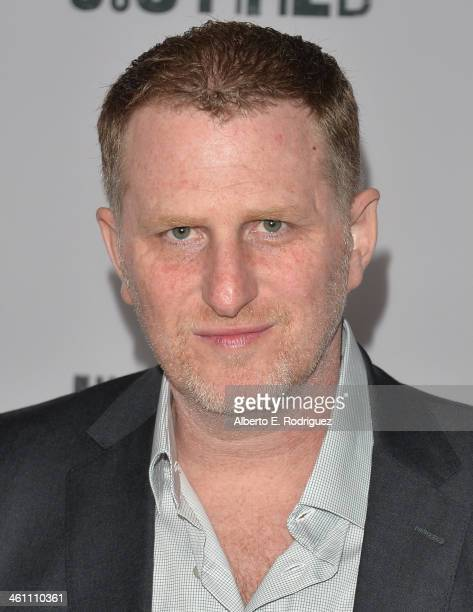 Actor Michael Rapaport arrives to the Season 5 premiere of FX's 'Justified' at DGA Theater on January 6 2014 in Los Angeles California
