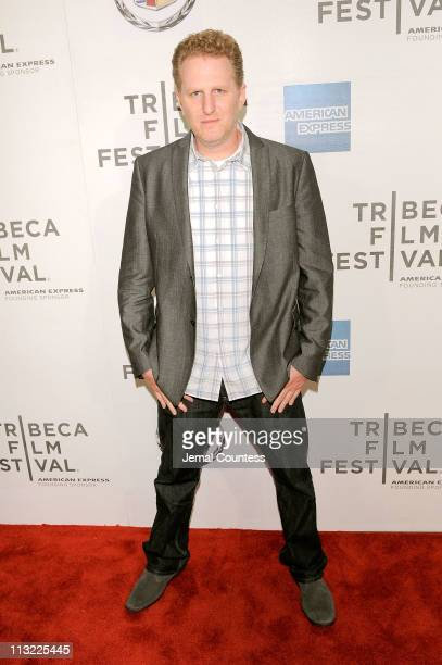 Actor Michael Rapaport attends the premiere of 'Beats Rhymes Life The Travels of a Tribe Called Quest' during the 2011 Tribeca Film Festival at BMCC...