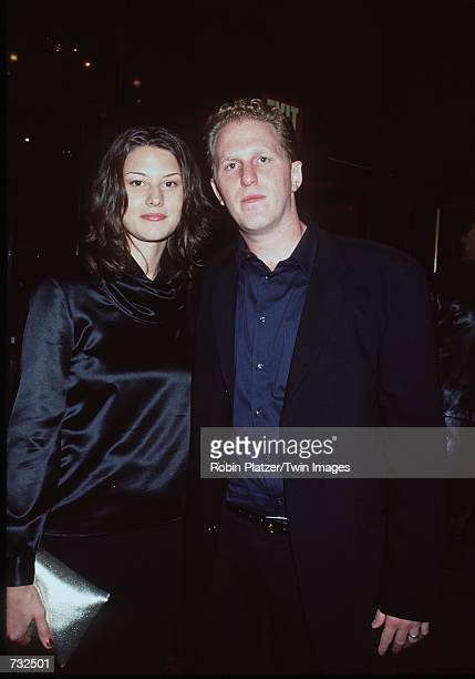 Actor Michael Rappaport and his wife Nicole arrive at the premiere of his new movie Bamboozled at The Ziegfeld Theatre October 2 2000 in New York City