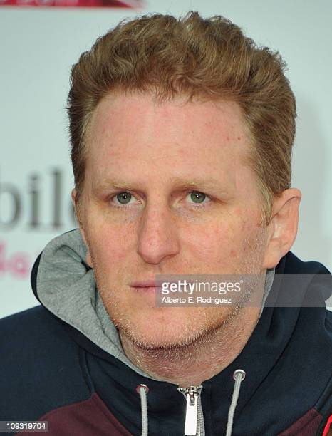 Actor Michael Rappaport arrives to the TMobile Magenta Carpet at the 2011 NBA AllStar Game on February 20 2011 in Los Angeles California