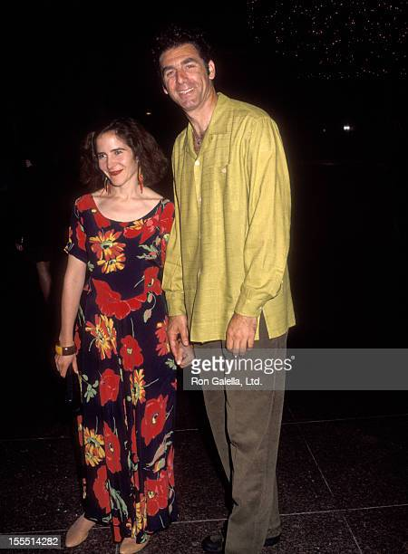 Actor Michael Richards and wife Ann Talman attend the screening of Howie Mandel's Comedy Special Howie Mandel Howie Spent Our Summer on June 2 1992...