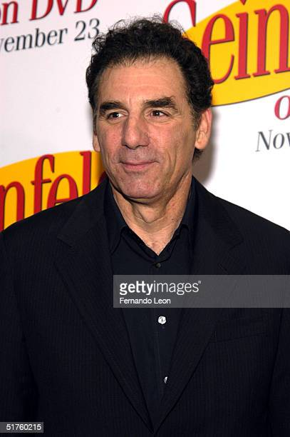Actor Michael Richards attends the DVD Release Party for the first three seasons of 'Seinfeld' held on November 17 2004 at the Rainbow Room in...