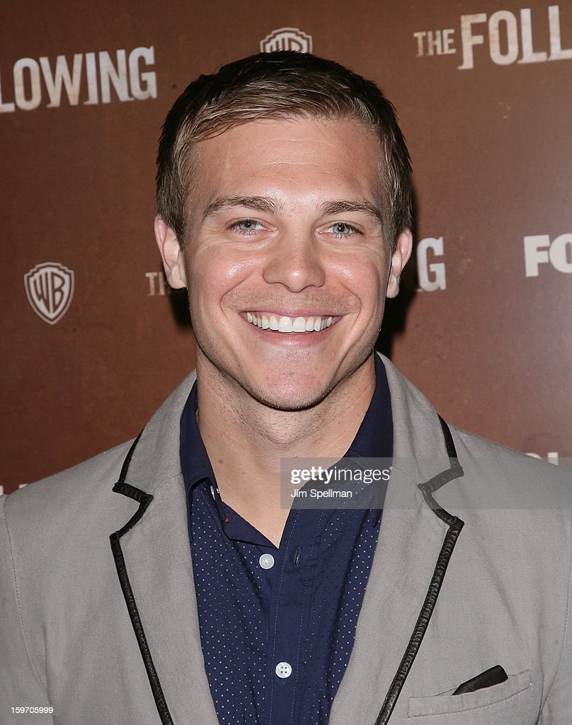 Actor Michael Roark attends 'The Following' New York Premiere at New York Public Library - Astor Hall on January 18, 2013 in New York City.