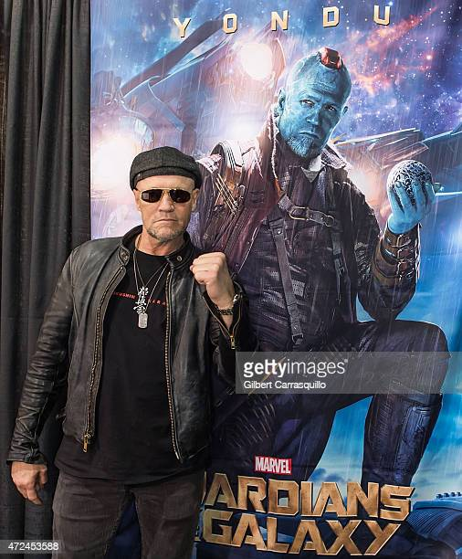 Actor Michael Rooker attends day 1 of Wizard World Comic Con at Pennsylvania Convention Center on May 7 2015 in Philadelphia Pennsylvania