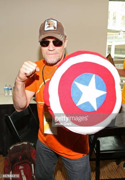Actor Michael Rooker attends day 2 of the WIRED Cafe @ Comic Con at Omni Hotel on July 25 2014 in San Diego California