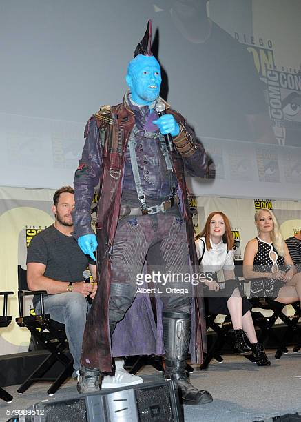 Actor Michael Rooker attends the Marvel Studios presentation during Comic-Con International 2016 at San Diego Convention Center on July 23, 2016 in...
