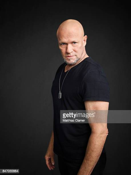 Actor Michael Rooker from 'Guardians of the Galaxy Vol 2' is photographed for Entertainment Weekly Magazine on July 23 2016 at Comic Con in the Hard...