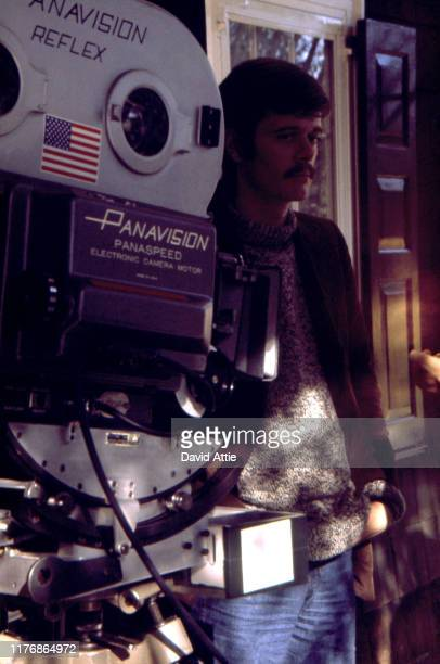 Actor Michael Sarrazin on the set of the Israel Horovitz movie Believe In Me in 1970 in New York City New York