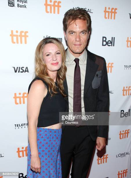 Actor Michael Shannon and Kate Arrington attend the premiere of The Shape Of Water during the 2017 Toronto International Film Festival at The Elgin...