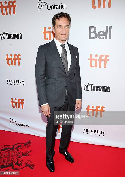 Actor Michael Shannon arrives at the 2016 Toronto International Film Festival Premiere of Loving at Roy Thomson Hall on September 11 2016 in Toronto...