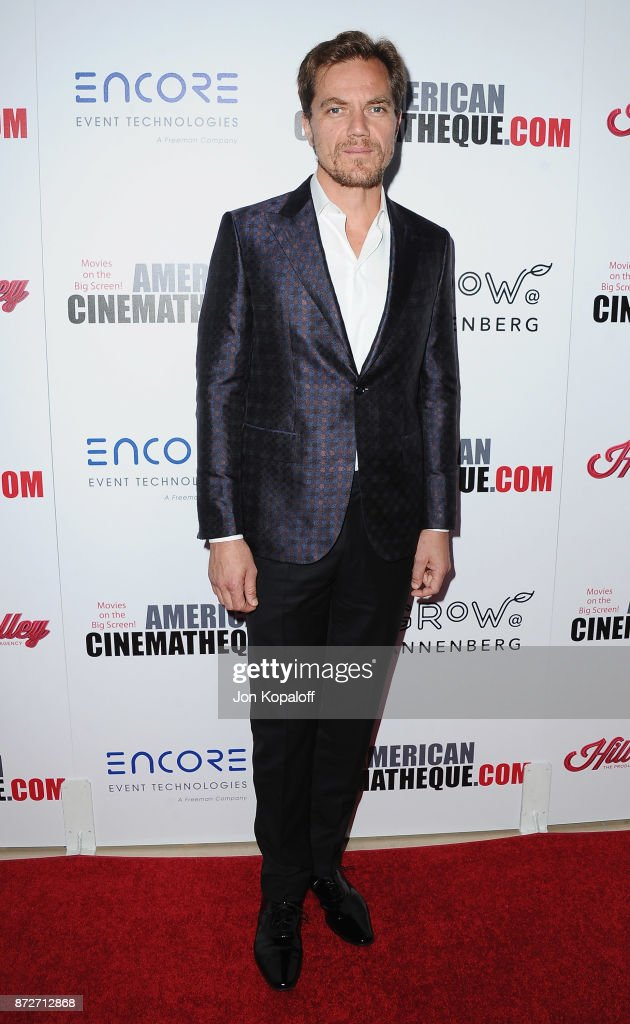 Actor Michael Shannon arrives at the 31st Annual American Cinematheque Awards Gala at The Beverly Hilton Hotel on November 10, 2017 in Beverly Hills, California.