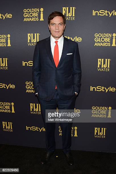 Actor Michael Shannon arrives at the Hollywood Foreign Press Association and InStyle celebrate the 2017 Golden Globe Award Season at Catch LA on...