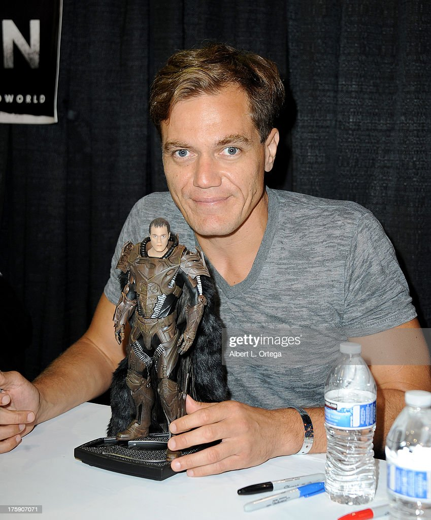 Actor Michael Shannon attends Day 1 of Wizard World Chicago Comic Con 2013 at the Donald E. Stephens Convention Center on August 9, 2013 in Rosemont, Illinois.