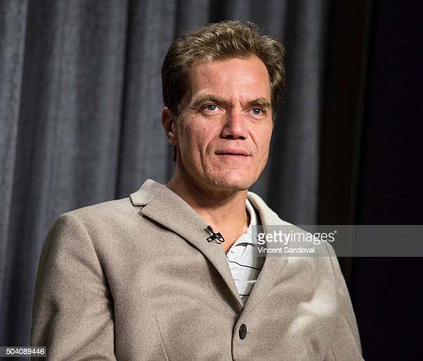 Actor Michael Shannon attends SAGAFTRA Foundation conversations with Michael Shannon for '99 Home' at SAG Foundation Actors Center on January 8 2016...