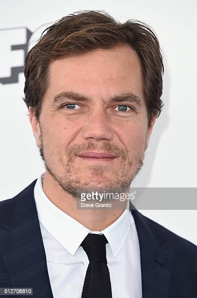 Actor Michael Shannon attends the 2016 Film Independent Spirit Awards on February 27 2016 in Santa Monica California