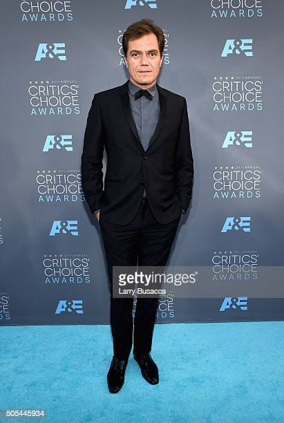 Actor Michael Shannon attends the 21st Annual Critics' Choice Awards at Barker Hangar on January 17 2016 in Santa Monica California