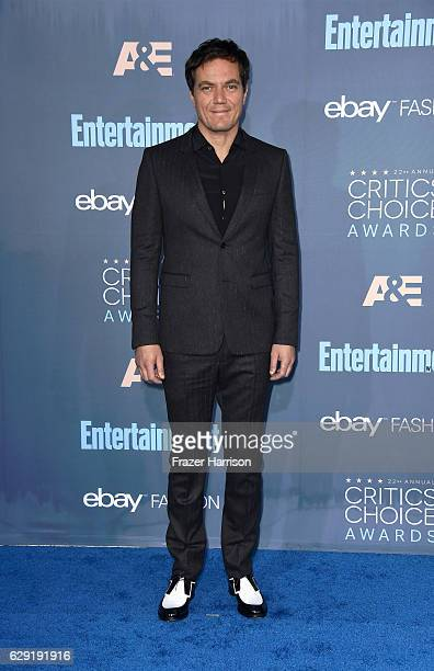 Actor Michael Shannon attends The 22nd Annual Critics' Choice Awards at Barker Hangar on December 11 2016 in Santa Monica California