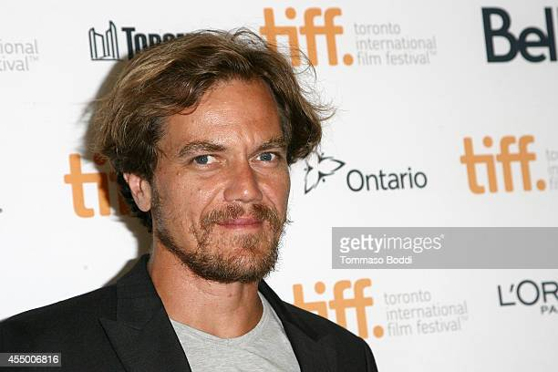 Actor Michael Shannon attends the '99 Homes' premiere during the 2014 Toronto International Film Festival at Princess of Wales Theatre on September 8...