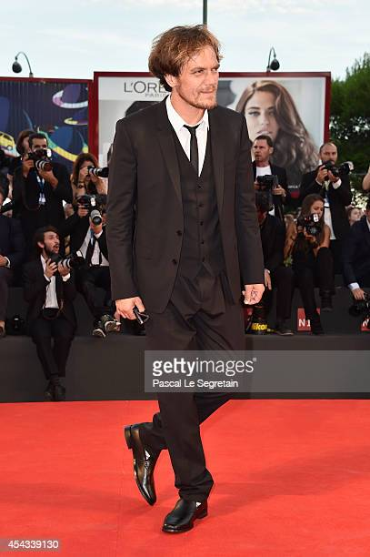 Actor Michael Shannon attends the '99 Homes' premiere during the 71st Venice Film Festival on August 29 2014 in Venice Italy