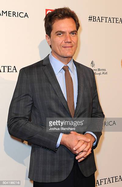 Actor Michael Shannon attends the BAFTA Los Angeles Awards Season Tea at Four Seasons Hotel Los Angeles at Beverly Hills on January 9 2016 in Los...