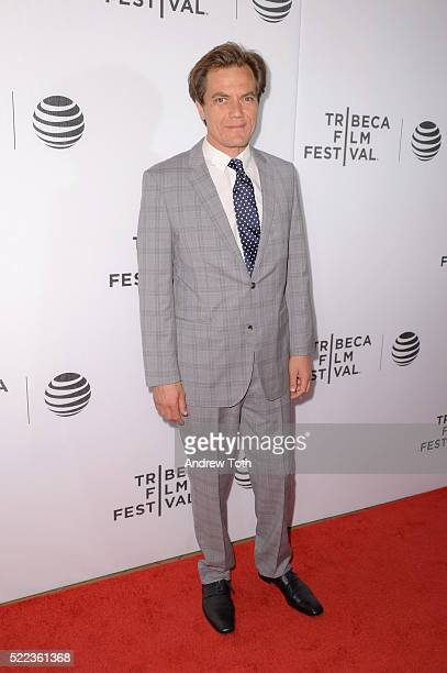 Actor Michael Shannon attends the 'Elvis Nixon' premiere during the 2016 Tribeca Film Festival at John Zuccotti Theater at BMCC Tribeca Performing...