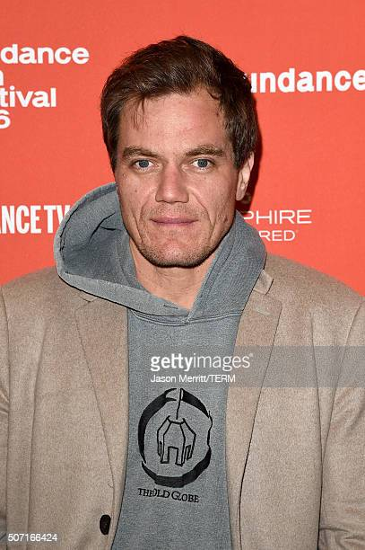 Actor Michael Shannon attends the Frank Lola premiere during the 2016 Sundance Film Festival at Eccles Center Theatre on January 27 2016 in Park City...