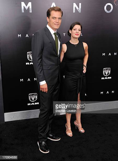 Actor Michael Shannon attends the 'Man Of Steel' world premiere at Alice Tully Hall at Lincoln Center on June 10 2013 in New York City