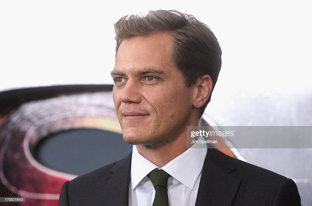 Actor Michael Shannon attends the 'Man Of Steel' World Premiere at Alice Tully Hall at Lincoln Center on June 10, 2013 in New York City.