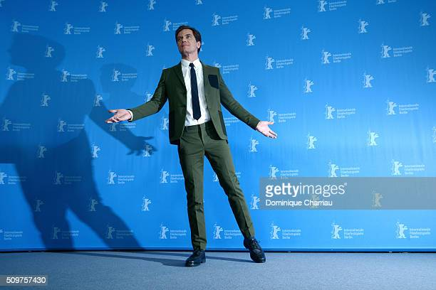 Actor Michael Shannon attends the 'Midnight Special' photo call during the 66th Berlinale International Film Festival Berlin at Grand Hyatt Hotel on...