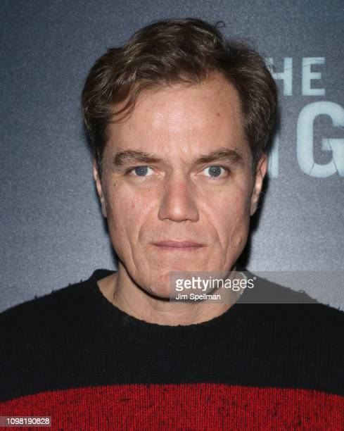 Actor Michael Shannon attends the New York premiere Of TNT's I Am The Night at Metrograph on January 22 2019 in New York City