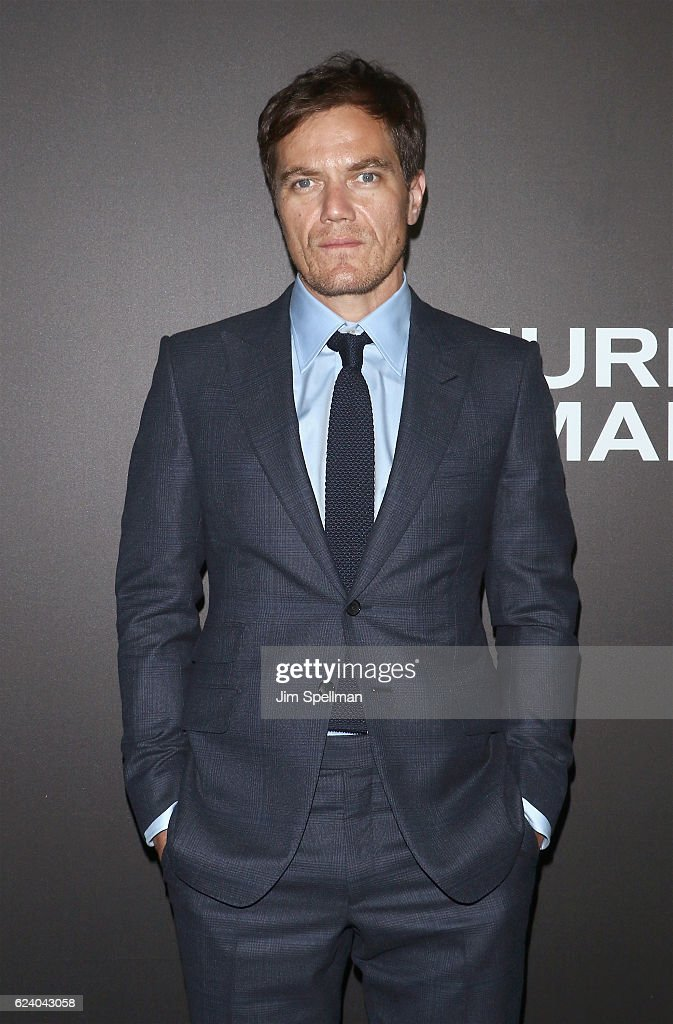 Actor Michael Shannon attends the 'Nocturnal Animals' New York premiere at The Paris Theatre on November 17, 2016 in New York City.