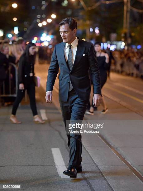 Actor Michael Shannon attends the 'Nocturnal Animals' premiere during the 2016 Toronto International Film Festival at Princess of Wales Theatre on...
