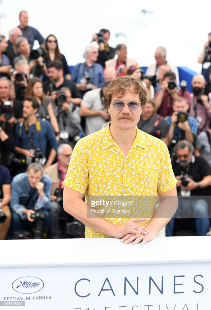Actor Michael Shannon attends the photocall for 'Farenheit 451' during the 71st annual Cannes Film Festival at Palais des Festivals on May 12, 2018 in Cannes, France.