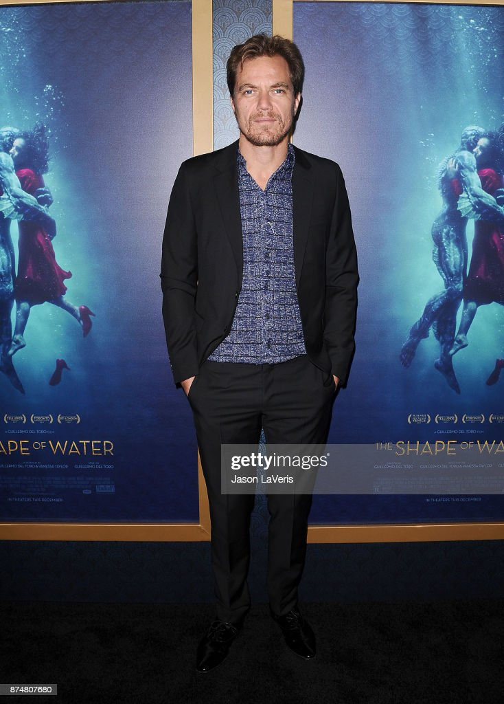 Actor Michael Shannon attends the premiere of 'The Shape of Water' at the Academy of Motion Picture Arts and Sciences on November 15, 2017 in Los Angeles, California.