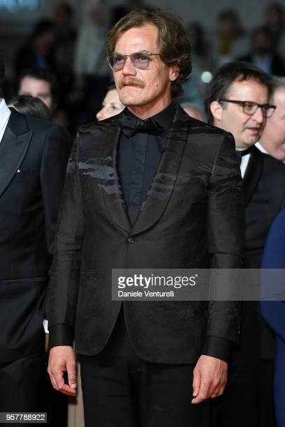 Actor Michael Shannon attends the screening of 'Farenheit 451' during the 71st annual Cannes Film Festival at Palais des Festivals on May 12 2018 in...