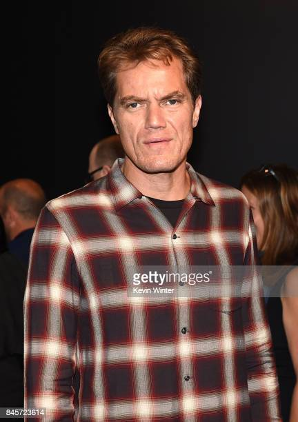 Actor Michael Shannon attends 'The Shape of Water' press conference during 2017 Toronto International Film Festival at TIFF Bell Lightbox on...