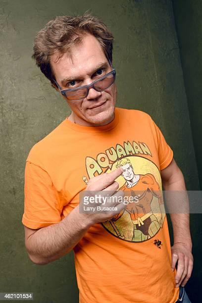 Actor Michael Shannon from 99 Homes poses for a portrait at the Village at the Lift Presented by McDonald's McCafe during the 2015 Sundance Film...