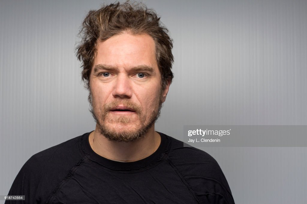 Actor Michael Shannon, from the film 'What They Had', is photographed for Los Angeles Times on January 21, 2018 in the L.A. Times Studio at Chase Sapphire on Main, during the Sundance Film Festival. PUBLISHED IMAGE.
