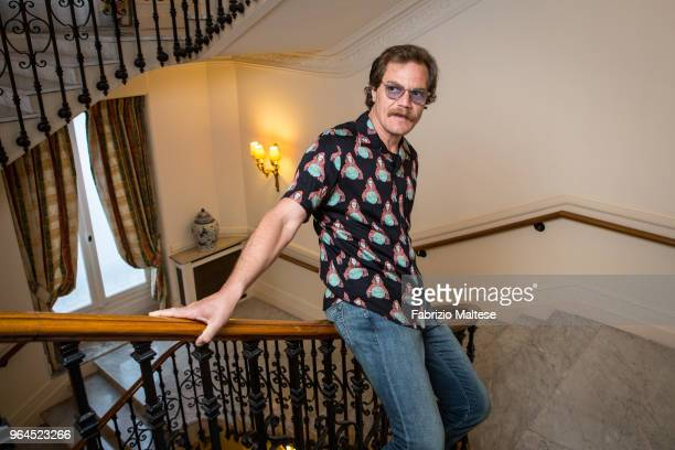 Actor Michael Shannon is photographed for The Hollywood Reporter on May 2018 in Cannes France
