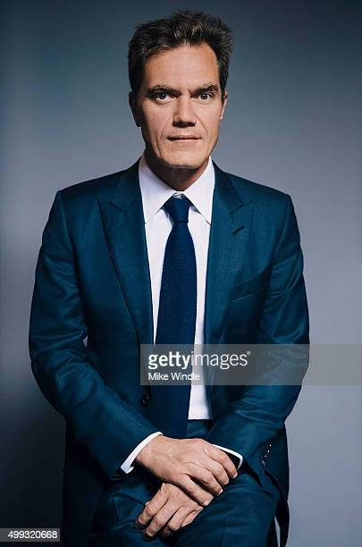 Actor Michael Shannon is photographed for The Wrap on November 16 2015 in Los Angeles California