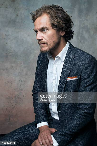 Actor Michael Shannon is photographed on September 10 2015 in Deauville France