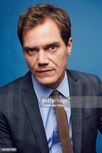 Actor Michael Shannon poses for a portrait at the 2016 Film Independent Filmmaker Grant And Spirit Award Nominees Brunch on January 9 2016 in Los...