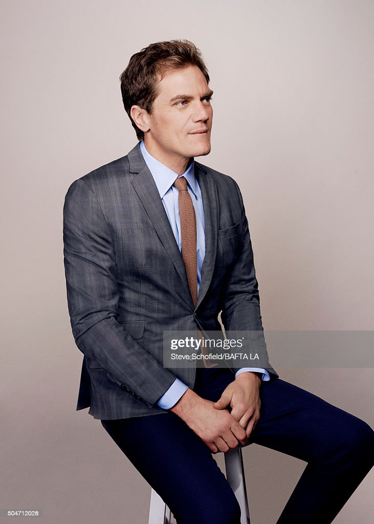 Actor Michael Shannon poses for a portrait at the BAFTA Los Angeles Awards Season Tea at the Four Seasons Hotel on January 9, 2016 in Los Angeles, California.