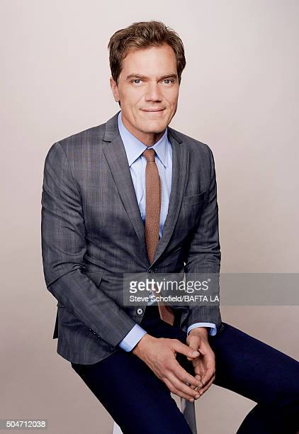 Actor Michael Shannon poses for a portrait at the BAFTA Los Angeles Awards Season Tea at the Four Seasons Hotel on January 9 2016 in Los Angeles...