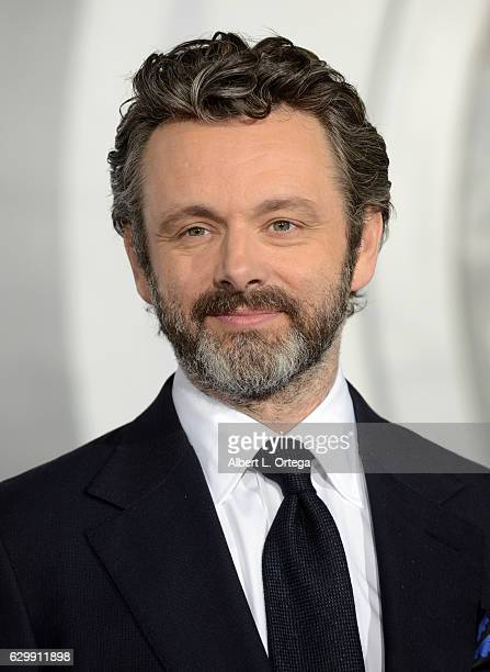 """Actor Michael Sheen arrives for the Premiere Of Columbia Pictures' """"Passengers"""" held at Regency Village Theatre on December 14, 2016 in Westwood,..."""