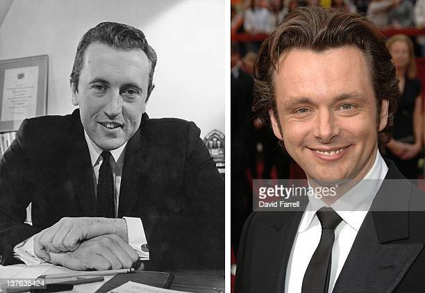 In this composite image a comparison has been made between David Frost and actor Michael Sheen Oscar hype continues this week with the announcement...