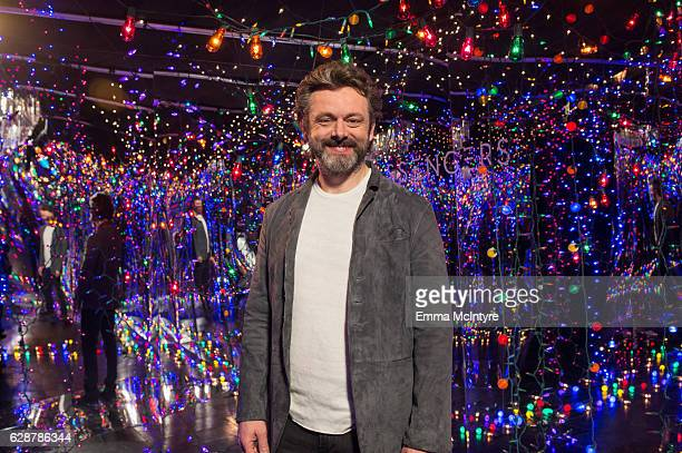 Actor Michael Sheen attends 'photo call for Columbia Pictures' 'Passengers' at Four Seasons Hotel Los Angeles at Beverly Hills on December 9 2016 in...