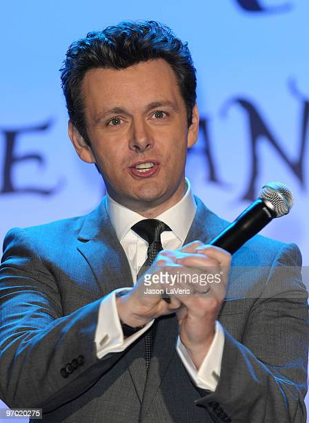 Actor Michael Sheen attends the 'Alice In Wonderland' Great Big Ultimate Fan Event at Hollywood Highland Courtyard on February 19 2010 in Hollywood...