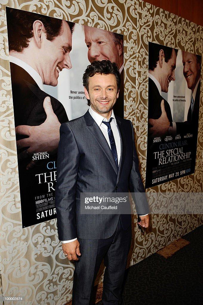 Actor Michael Sheen attends the Los Angeles premiere of HBO Film's 'The Special Relationship' at the Directors Guild Theatre on May 19, 2010 in West Hollywood, California.